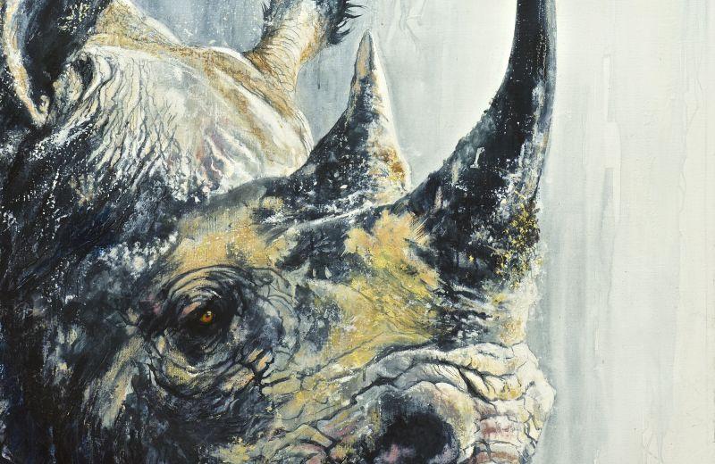 rhino - encaustique sur toile - 100 100 cm.jpg